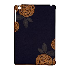 Floral Roses Seamless Pattern Vector Background Apple Ipad Mini Hardshell Case (compatible With Smart Cover) by Nexatart