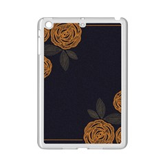 Floral Roses Seamless Pattern Vector Background Ipad Mini 2 Enamel Coated Cases