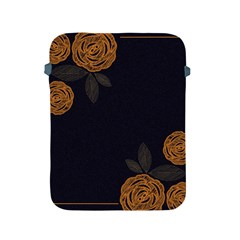 Floral Roses Seamless Pattern Vector Background Apple Ipad 2/3/4 Protective Soft Cases by Nexatart