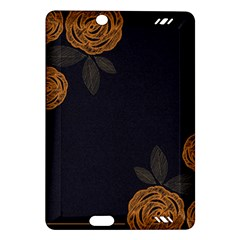 Floral Roses Seamless Pattern Vector Background Amazon Kindle Fire Hd (2013) Hardshell Case by Nexatart