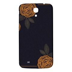 Floral Roses Seamless Pattern Vector Background Samsung Galaxy Mega I9200 Hardshell Back Case by Nexatart