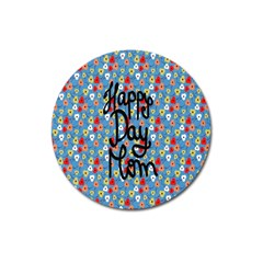 Happy Mothers Day Celebration Magnet 3  (round) by Nexatart