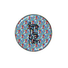 Happy Mothers Day Celebration Hat Clip Ball Marker