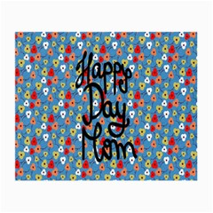 Happy Mothers Day Celebration Small Glasses Cloth