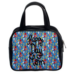 Happy Mothers Day Celebration Classic Handbags (2 Sides) by Nexatart