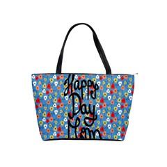 Happy Mothers Day Celebration Shoulder Handbags by Nexatart