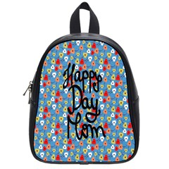 Happy Mothers Day Celebration School Bags (small)  by Nexatart