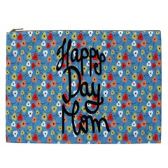Happy Mothers Day Celebration Cosmetic Bag (xxl)  by Nexatart