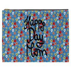 Happy Mothers Day Celebration Cosmetic Bag (xxxl)  by Nexatart