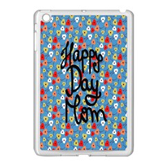 Happy Mothers Day Celebration Apple Ipad Mini Case (white)