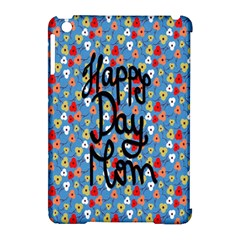 Happy Mothers Day Celebration Apple Ipad Mini Hardshell Case (compatible With Smart Cover) by Nexatart