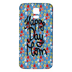 Happy Mothers Day Celebration Samsung Galaxy S5 Back Case (white)