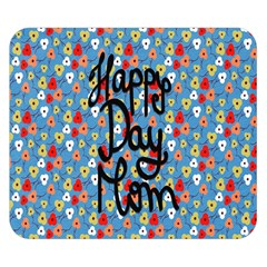 Happy Mothers Day Celebration Double Sided Flano Blanket (small)  by Nexatart