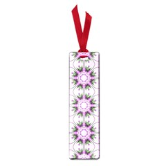 Pretty Pink Floral Purple Seamless Wallpaper Background Small Book Marks by Nexatart