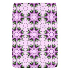 Pretty Pink Floral Purple Seamless Wallpaper Background Flap Covers (s)