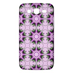 Pretty Pink Floral Purple Seamless Wallpaper Background Samsung Galaxy Mega 5 8 I9152 Hardshell Case  by Nexatart