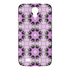 Pretty Pink Floral Purple Seamless Wallpaper Background Samsung Galaxy Mega 6 3  I9200 Hardshell Case