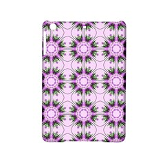 Pretty Pink Floral Purple Seamless Wallpaper Background Ipad Mini 2 Hardshell Cases by Nexatart
