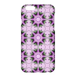 Pretty Pink Floral Purple Seamless Wallpaper Background Apple Iphone 6 Plus/6s Plus Hardshell Case by Nexatart