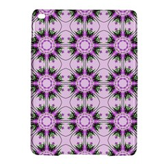 Pretty Pink Floral Purple Seamless Wallpaper Background Ipad Air 2 Hardshell Cases by Nexatart