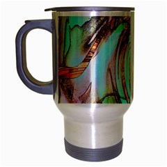Art Pattern Travel Mug (silver Gray)