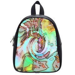 Art Pattern School Bags (small)  by Nexatart