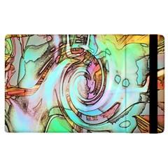 Art Pattern Apple Ipad 2 Flip Case by Nexatart