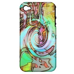 Art Pattern Apple Iphone 4/4s Hardshell Case (pc+silicone)