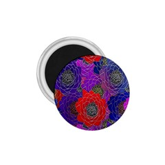 Colorful Background Of Multi Color Floral Pattern 1 75  Magnets