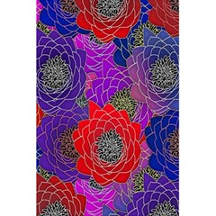 Colorful Background Of Multi Color Floral Pattern 5 5  X 8 5  Notebooks by Nexatart