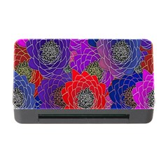 Colorful Background Of Multi Color Floral Pattern Memory Card Reader With Cf by Nexatart