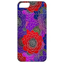 Colorful Background Of Multi Color Floral Pattern Apple Iphone 5 Classic Hardshell Case
