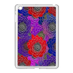 Colorful Background Of Multi Color Floral Pattern Apple Ipad Mini Case (white) by Nexatart