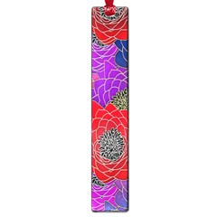 Colorful Background Of Multi Color Floral Pattern Large Book Marks by Nexatart