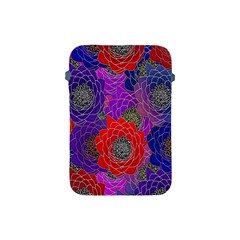 Colorful Background Of Multi Color Floral Pattern Apple Ipad Mini Protective Soft Cases by Nexatart