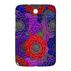 Colorful Background Of Multi Color Floral Pattern Samsung Galaxy Note 8 0 N5100 Hardshell Case