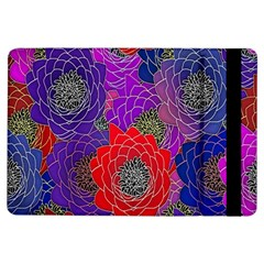 Colorful Background Of Multi Color Floral Pattern Ipad Air Flip by Nexatart