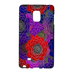 Colorful Background Of Multi Color Floral Pattern Galaxy Note Edge
