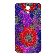 Colorful Background Of Multi Color Floral Pattern Samsung Galaxy Mega I9200 Hardshell Back Case