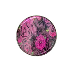 Oil Painting Flowers Background Hat Clip Ball Marker (10 Pack) by Nexatart