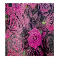 Oil Painting Flowers Background Shower Curtain 66  X 72  (large)  by Nexatart