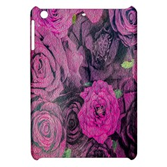 Oil Painting Flowers Background Apple Ipad Mini Hardshell Case by Nexatart