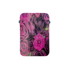 Oil Painting Flowers Background Apple Ipad Mini Protective Soft Cases by Nexatart
