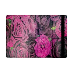 Oil Painting Flowers Background Ipad Mini 2 Flip Cases by Nexatart