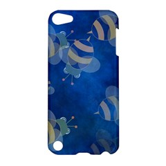 Seamless Bee Tile Cartoon Tilable Design Apple Ipod Touch 5 Hardshell Case by Nexatart