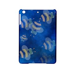 Seamless Bee Tile Cartoon Tilable Design Ipad Mini 2 Hardshell Cases by Nexatart