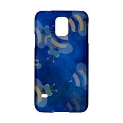 Seamless Bee Tile Cartoon Tilable Design Samsung Galaxy S5 Hardshell Case  by Nexatart