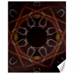 Digitally Created Seamless Pattern Canvas 11  x 14