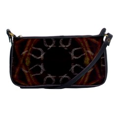 Digitally Created Seamless Pattern Shoulder Clutch Bags