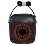 Digitally Created Seamless Pattern Girls Sling Bags Front